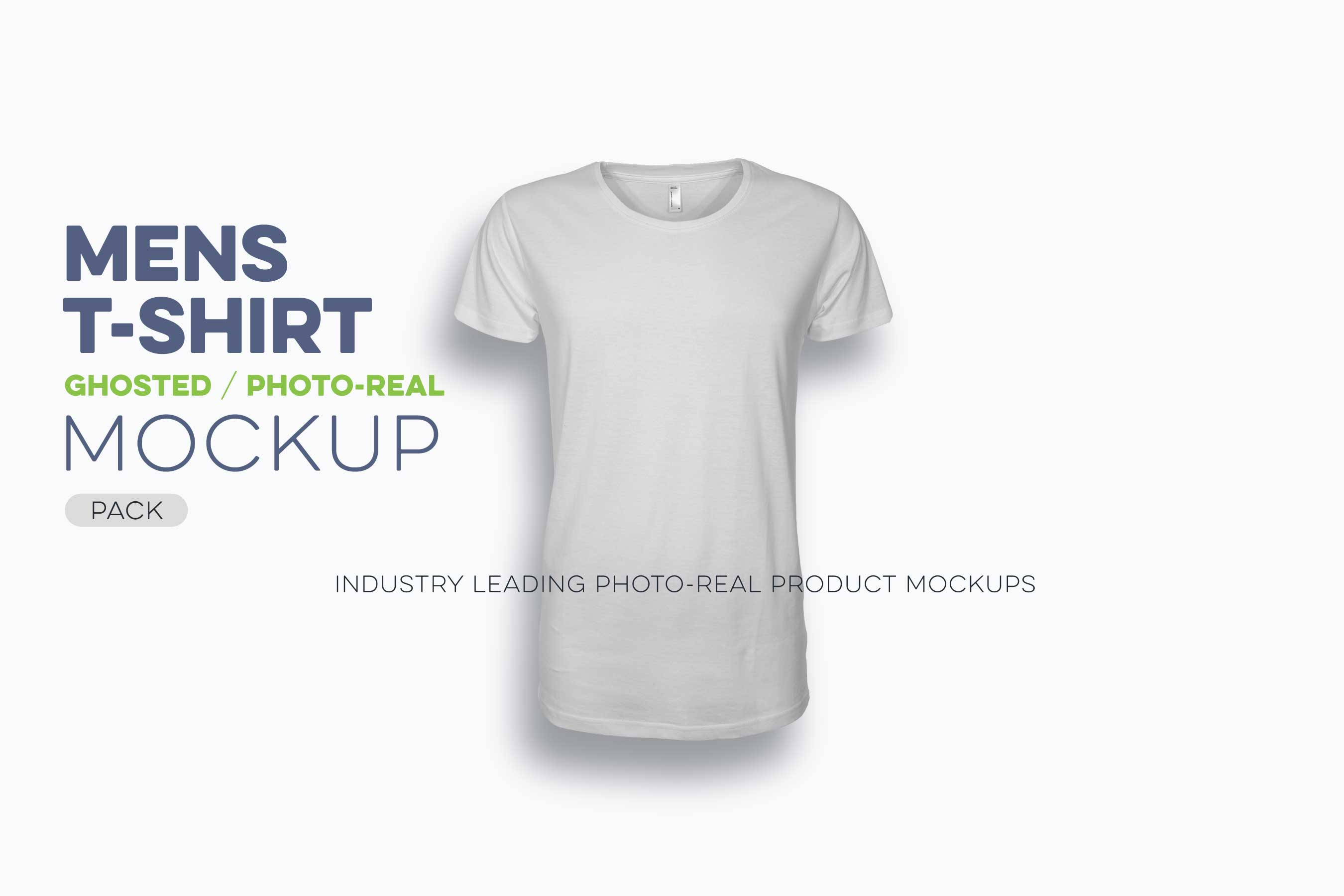 Mens Ghosted TShirt Mockup Template Threadosauruscom - T shirt mockup template
